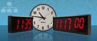 Sincronizzate Grandi Orologi da parete digitale