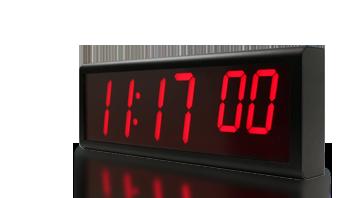 orologio da parete ethernet digitale